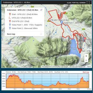 enduro official lap 1 map