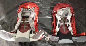 osprey pack harness comparison hip belt